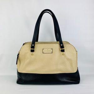 Kate Spade Grove Court Lainey Black/Tan Handbag